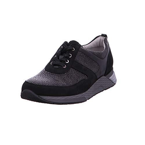 573e0f14 Waldläufer - Zapatillas de Charol para Mujer Negro Negro, Color, Talla 38.5  EU
