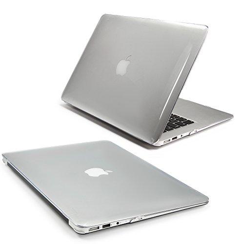 Urcover® Macbook Air 11,6 Zoll Crystal Hard Case | Ultra Slim in Klar / Transparent | 360 Grad transparente durchsichtige dünne Komplett Schutzhülle Full Body Hochwertige Laptop Cover Hartschale Tasche Zubehör