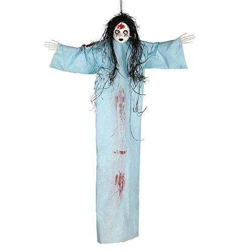 Colgante muñeca azul 95 cms.