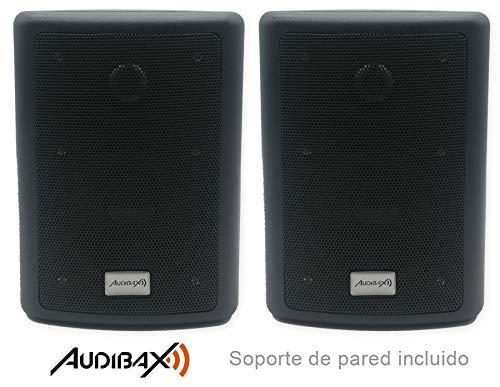 Audibax Pícolo PR-41 Pareja Altavoces Estantería HiFi y Sonorización 75 W con...