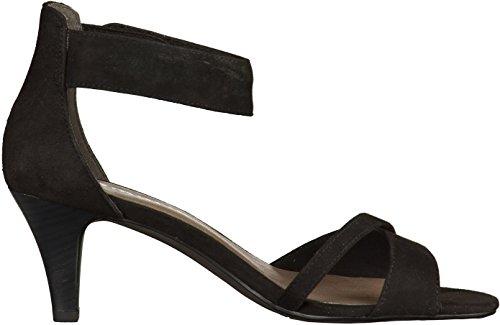 Tamaris 1-28305-28 femmes Sandale Noir