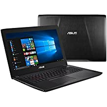 "2018 Newest ASUS 15.6"" FHD LED Backlight Gaming Laptop, Intel Core I7-7700HQ Up To 3.8GHz, 16GB DDR4, 256GB SSD + 1TB HDD, GTX 1050, Webcam, 802.11ac, Bluetooth 4.1, USB 3.0, HDMI, Windows 10"