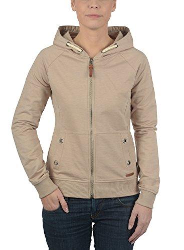 DESIRES Mandy - veste à capuche - Femme Simple Taupe Melange (0162M)