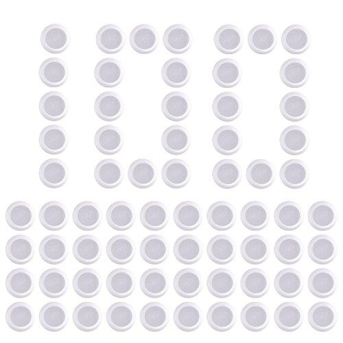 FOKOM 100St. Disc Nachfüllpack Darts Pfeile Scheiben für Nerf Vortex Serie