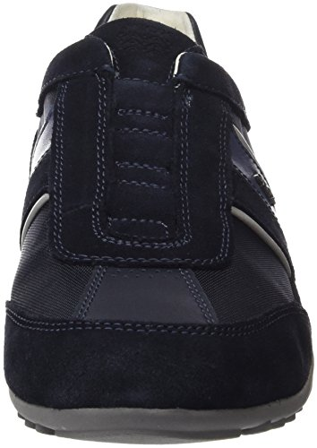 At A Sneakers U Geox Chaussures Rrpoaw Bleu Homme Wells Basses Navy n7Bzx1z