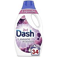 Dash 2en1 Dash2en1 Lessive Liquide Lavande/Camomille Lessive Liquide 1,87L 34Lavages -