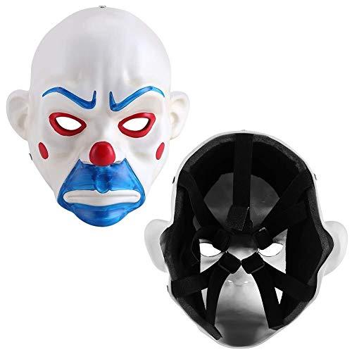 Joker Bank Robber Kostüm - PANFU-DY Joker Bank Robber Masken-Halloween-Kostüm for Erwachsene Maske for Halloween-Spiel-Partei-Kostüm-Schablonen Halloween