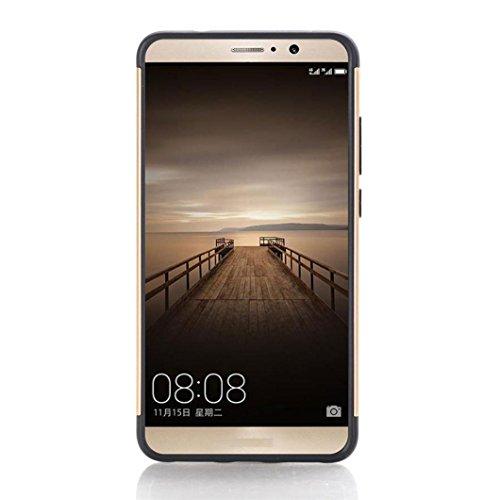 Funda Para Huawei Mate 9 Xinantime Caso de Caucho Blando Carcasa para Moviles  Oro
