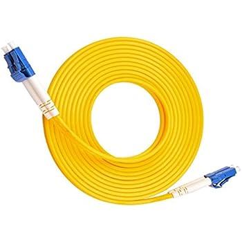 LC auf LC, OM4, 40 G, 50//125 Duplex-Stecker, Multimode, Lila 4m 2.0mm LWL-Patchkabel