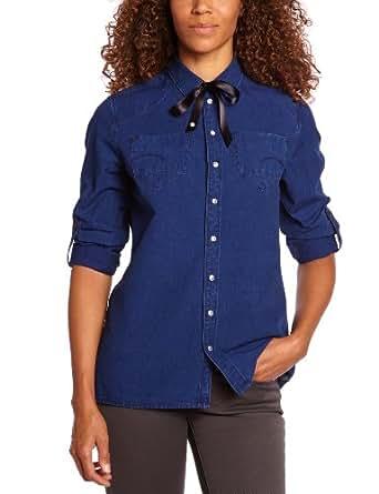 G-Star Raw Damen Shirt   - Blau - Medium Aged - XS