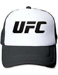 UFC Negro Geo 2016 Snapback sombreros gorra negro rojo