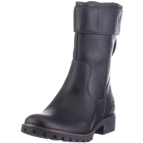 Timberland ATRUS MID SMOOTH 96387, Stivali donna Nero (Schwarz/Black Smooth)