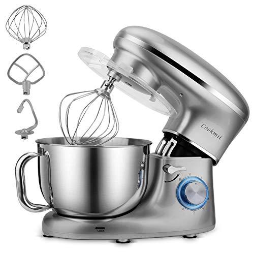 Cookmii Batidora Amasadora, Amasadora de Bajo Ruido, Robot de Cocina Multifuncional, Amasadoras de Pan...