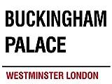 London - Buckingham Palace Blechschilder Nostalgie - Grösse 20x15 cm