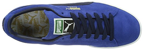 Puma Suede Classic+ , Baskets Mode Mixte Adulte, Rouge Bleu (Limoges/Peacoat)