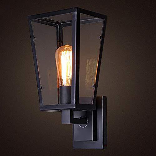 YXYY Apliques de Pared Vintage Industrial Decoración Estilo de Retro Lámpara de Pared Dormitorio Cocina Sala de Estar Comedor Balcón(Sin Bombilla)