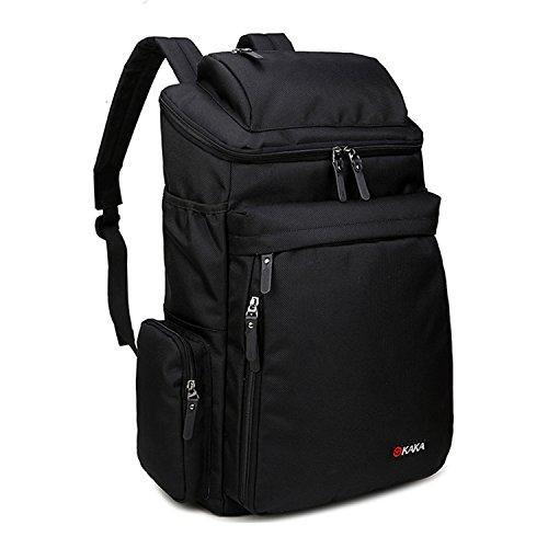 Imagen de fafada 40l unisex  de senderismo paquete del alpinismo escalada marcha para viaje trekking camping deporte al aire libre impermeable noir