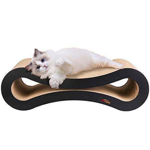 Tiragraffi per gatti, prodotto di design in cartone ondulato,ideale come lounge, letto, cuccia, palestra e graffiatoio,completamente riciclabile