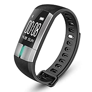 Masalong ECGPPG Smart Wristband Bracelet Heart Rate Blood Pressure Monitor Fitness Tracker