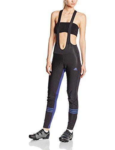 adidas Cycling Damen Radhose response warmtefront bib, black/midnight indigo, XL, A08468
