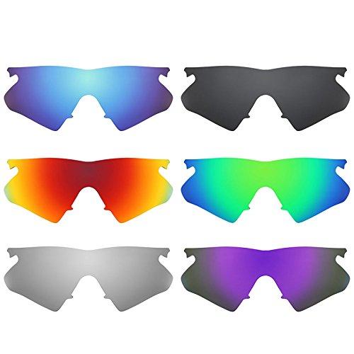 Revant Ersatzlinsen für Oakley M Frame Heater Polarisiert 6 Paar Kombipack K024