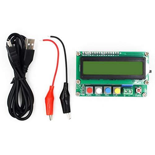 LC100-A Voll ausgestattete Digital LCD High Precision Induktivität Kapazität L/C Meter Kondensator Test Instruments (Farbe: Mehrfarben)