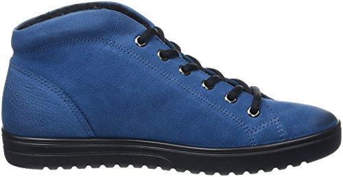 Ecco Fara, Sneakers Hautes Femme Bleu (POSEIDON2269)
