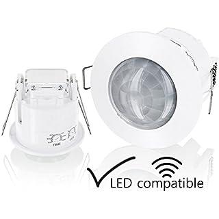 Einbau IR Bewegungsmelder 360° - Deckeneinbau - LED geeignet - 1200W 230V