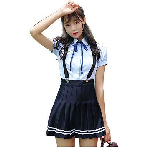 HugAzure Japanischen Anime Kleidung Klassische Matrosenanzug Sommer kurz Mädchen Schüler Schuluniformen Kostüm JK Cosplay-05XL - Arzt, Blazer
