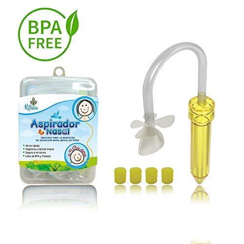 Ritalia baby aspirador nasal 5 filtros higiénicos