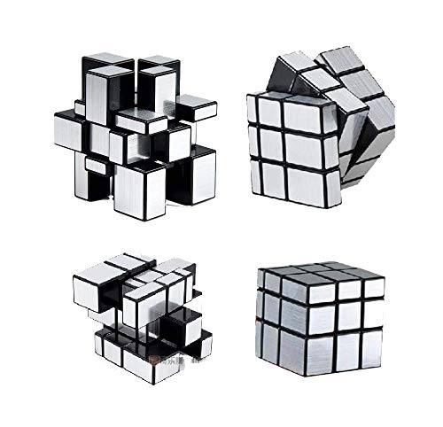 Dealspick Magic Cube Silver Mirror Speed 3x3x3 Toys
