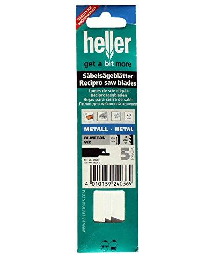 Hellermann-Lame per sega a sciabola 240369metallo Bi-Metal WZ 130mm confezione