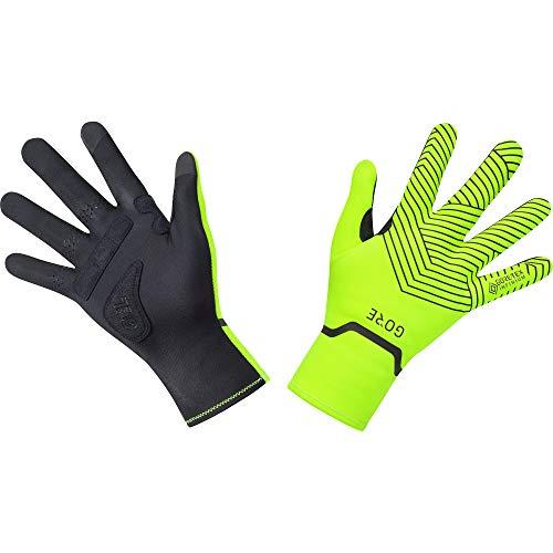 GORE WEAR C3 Stretch Handschuhe GORE-TEX INFINIUM, 9, Neon-Gelb/Schwarz