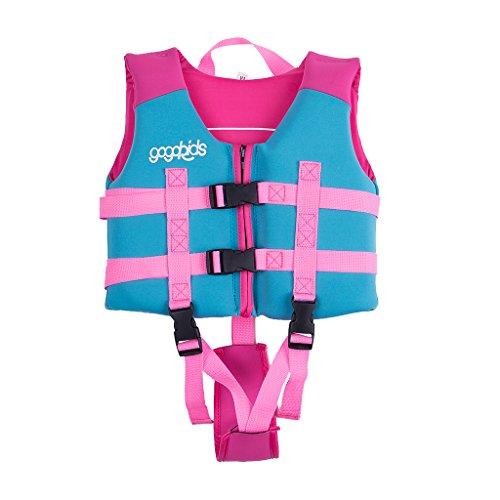 d41b3fde428d Sundwsports Chaleco de Flotación para Niñas Chaqueta de Entrenamiento para  Nadar para Niños Aprenda a Nadar