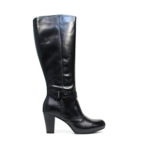 Nero Giardini femme en bottes de cuir Article A615962D 100 Black Made in Italy Automne Hiver 2016 2017