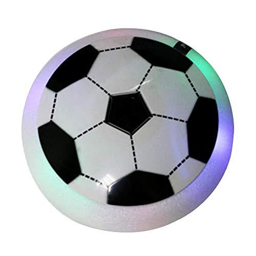 Nettes pädagogisches Spielzeug Luft Fußballspiele Hover Ball Spielzeug Neuheit Geschenke Leuchten Hover Fußball, Hover Fußball Disc Indoor Outdoor Sport Spiele mit weichem Schaumstoff Stoßfänger Safe,