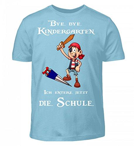 (Einschulungs Shirt für Jungen und Mädchen, Kinder T-Shirt - Kleiner Pirat - Kinder T-Shirt)