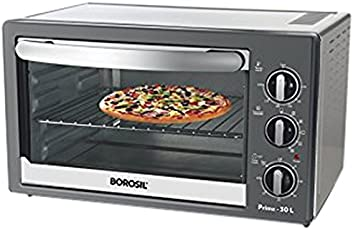 Borosil Prima BOTG30CRS13 30-Litre Oven Toaster Grill (Black)