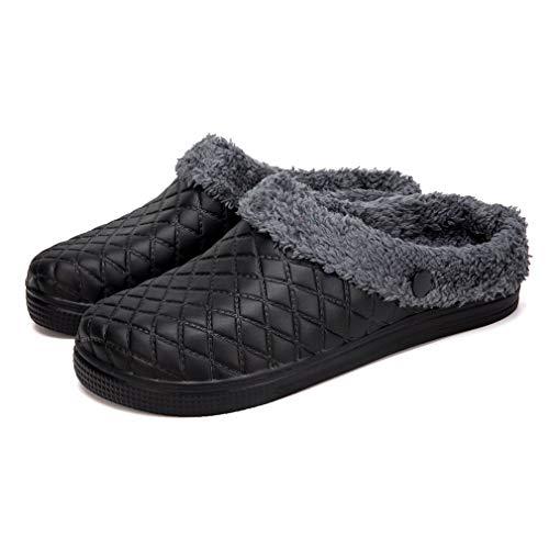 Zapatillas Casa Hombre Mujer Zuecos Chanclas Invierno