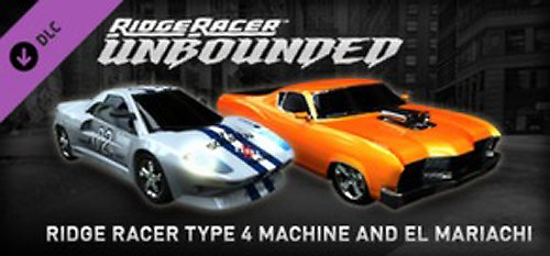 Ridge Racer Unbounded  Type 4 Machine & El Mariachi Pack DLC 2