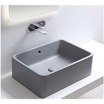 Lavabi da appoggio Cielo Shui lavabo d\'appoggio quadrato SHLAA40 ...