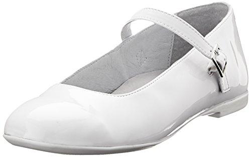 Richter Kinderschuhe Ely, Mädchen Geschlossene Ballerinas, Weiß (White 0101), 33 EU (1 UK)
