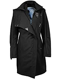 d103742722efb Musterbrand Star Wars Manteau Femme Sith Lady Limited Edition Veste Noir