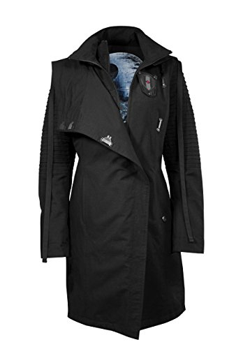 s Mantel Damen Sith Lady Limited Edition Jacke schwarz 38 (M) (Sith-lord-outfit)