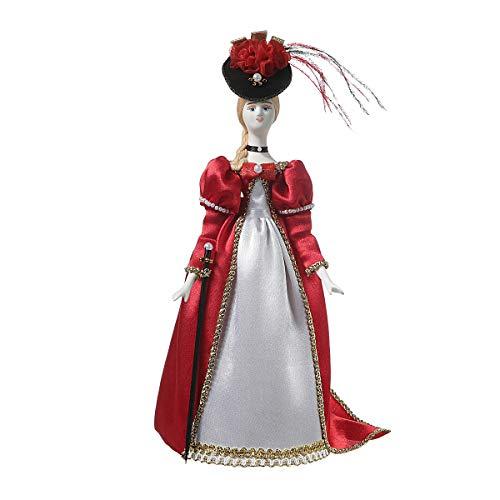 danila-souvenirs Russische Handgemachte Porzellan Puppe im Kleid der -