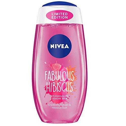 Nivea Fabulous Hibiscus Pflegedusche, Cranberry Extrakt & Hibiskus Duft, 3er Pack (3 x 200ml)