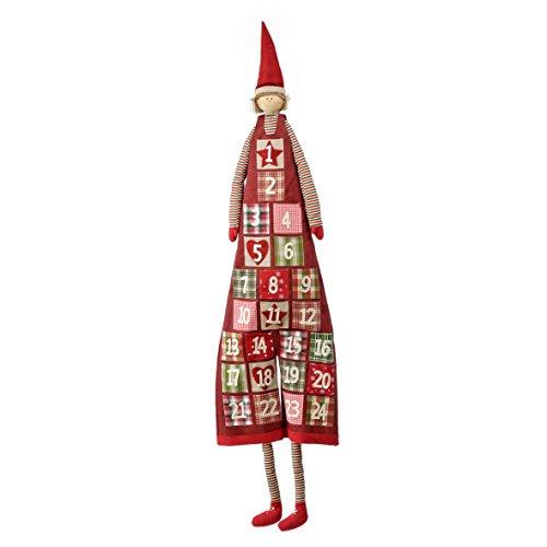 pajoma Adventskalender zum Befüllen im Jungen Design, Weihnachten