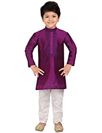 Kute Kids Boy's Ethnic Kurta Payjama Set
