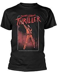Tee Shack Michael Jackson Thriller Dance Pose Oficial Camiseta para Hombre