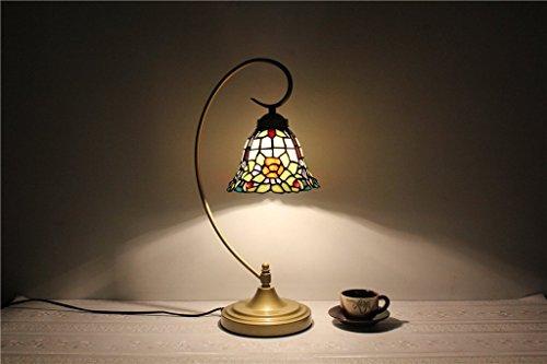 ILQ 7 Pouces Baroque Lampe Salon Lampe Chambre Lampe Étude Table Lampe,AA